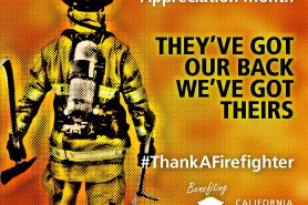 CA Fire Foundation Marks Septembers Firefighter Appreciation Month With Series of New Partnerships and Events