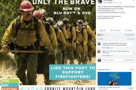 Sony Pictures Home Entertainment Invites Fans to Participate in Social Campaign to Raise $100K for Firefighters