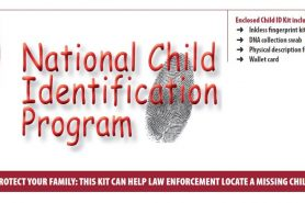 Fire Department distributes child ID kits to kindergarten families