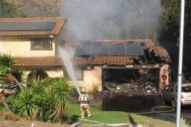 Fire Severely Damages Escondido Home, Displaces Family